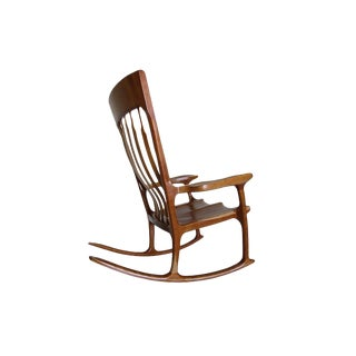 Mid Century Hand Crafted Rocking Chair Inspired by Hal Taylor