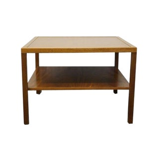 20th Century Traditional Kittinger Square Two Tier End Table For Sale