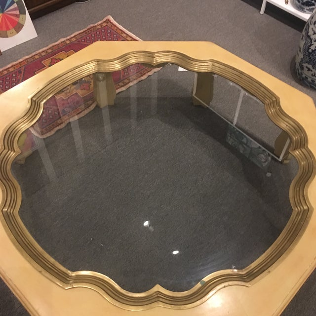 Traditional Baker Large Coffee Table For Sale - Image 3 of 7