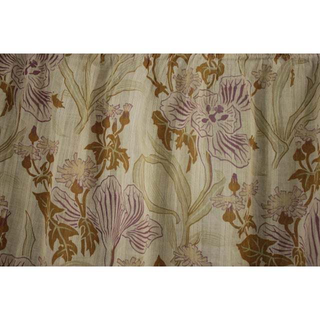 Such a lovely, soft, sheer floral cotton !!! This gorgeous fabric is French and dates c 1890, this is a light weight,...