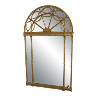 Friedman Brothers #6600 Palladium Large Dome Top Silver Mirror For Sale