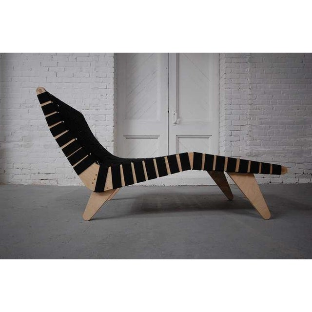 Klaus Grabe model C5 chaise longue, designed 1948. This chaise is new production, made by Luna modern. Quantities...