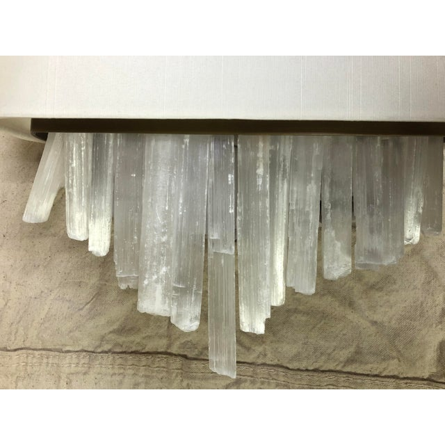 Contemporary Whitewash Wall Sconce by Currey & Company For Sale - Image 3 of 8
