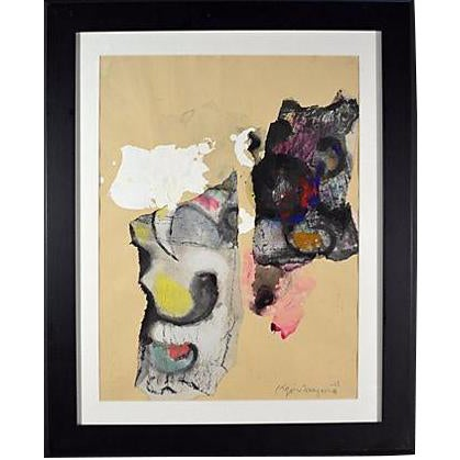 Abstract Watercolor by Kojin Toneyama - Image 1 of 2
