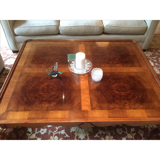 Chippendale Style Henredon Mahogany Coffee Table - Image 3 of 9