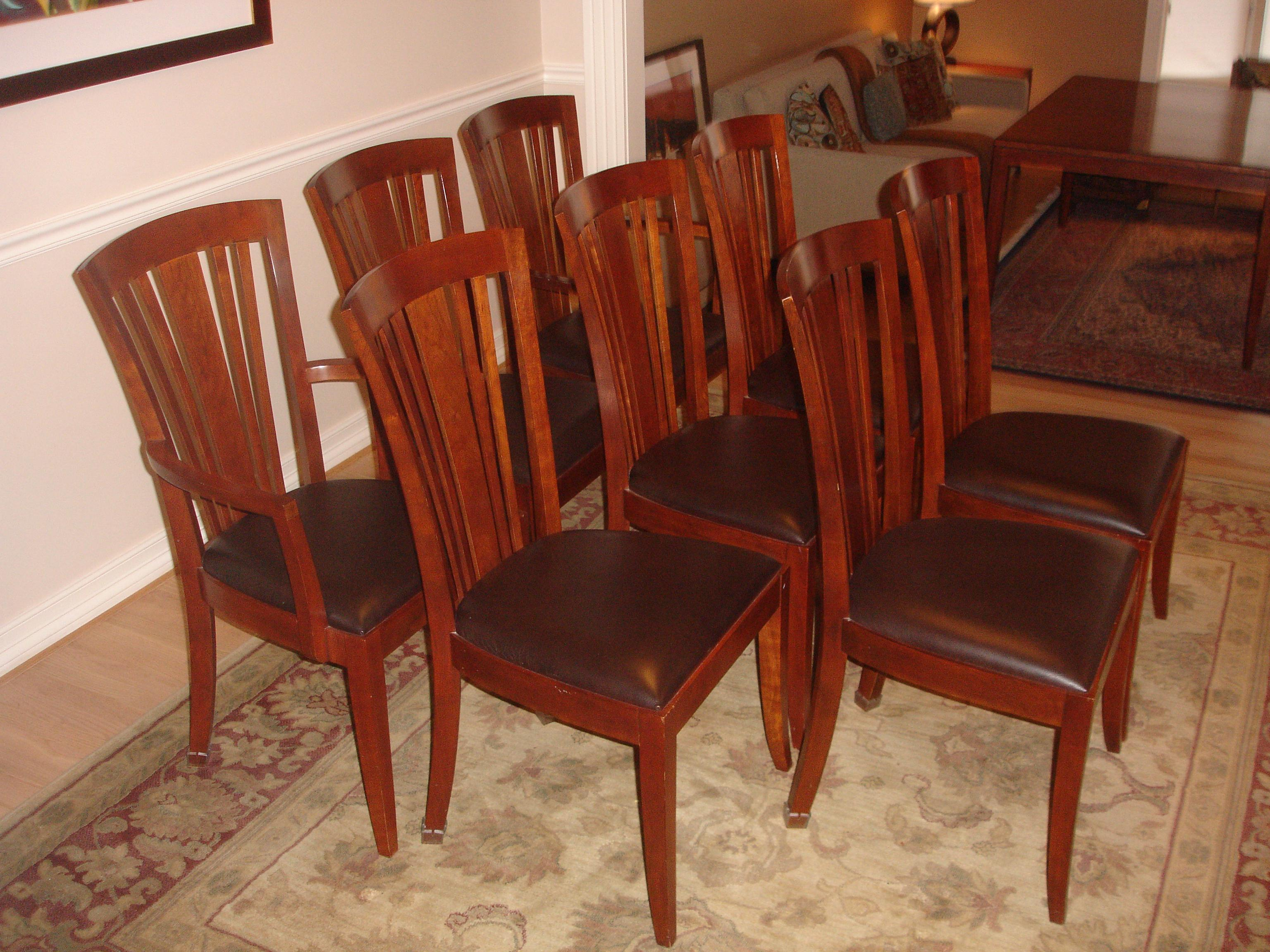 Stickley Metropolitan Dining Table U0026 Chairs For Sale In Denver   Image 6 Of  11