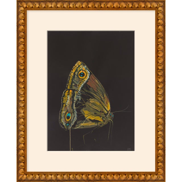 "Contemporary Medium ""Moth Profile"" Print by Alex K. Mason, 18"" X 22"" For Sale - Image 3 of 3"