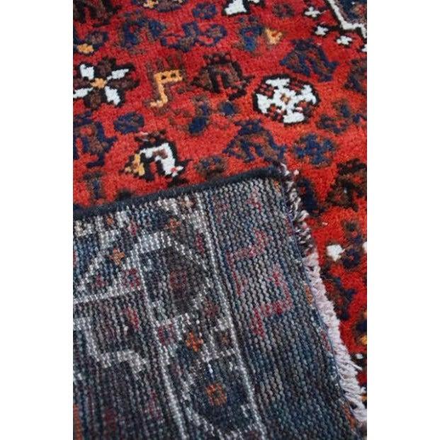 "Vintage Persian Shiraz Rug - 6' X 9'2"" - Image 8 of 9"