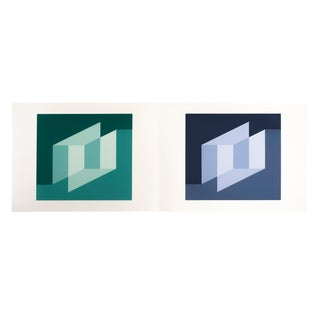 "Josef Albers ""Formulation : Articulation"" Portfolio Ii, Folder 25 For Sale"