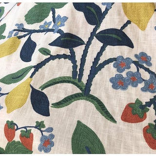 Robert Allen Home Strawberry and Lemons Madcap Cottage Fabric For Sale