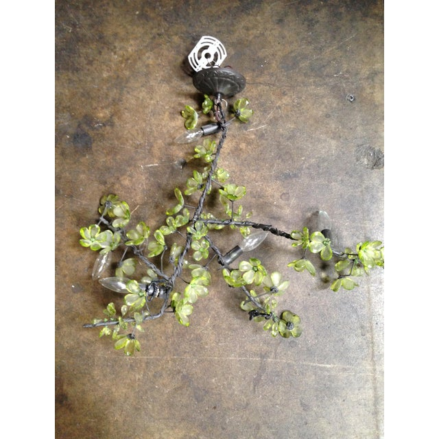 Beaded Branch Ceiling Lights - Pair - Image 3 of 5