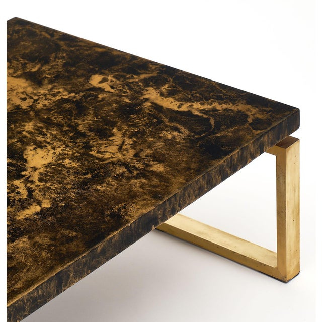 1950s Mid-Century French Altuglass Coffee Table For Sale - Image 5 of 10