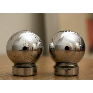Russel Wright Chrome Shakers for Chase, a Pair Preview