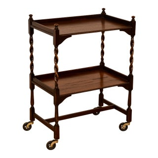 English Oak Drinks Cart, Circa 1900 For Sale