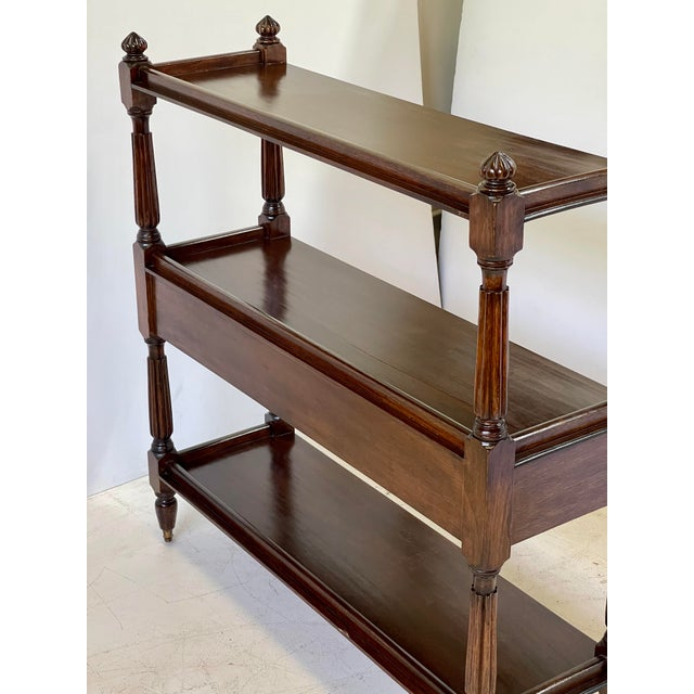 Early 20th Century English Regency Trolley of Mahogany For Sale - Image 5 of 13