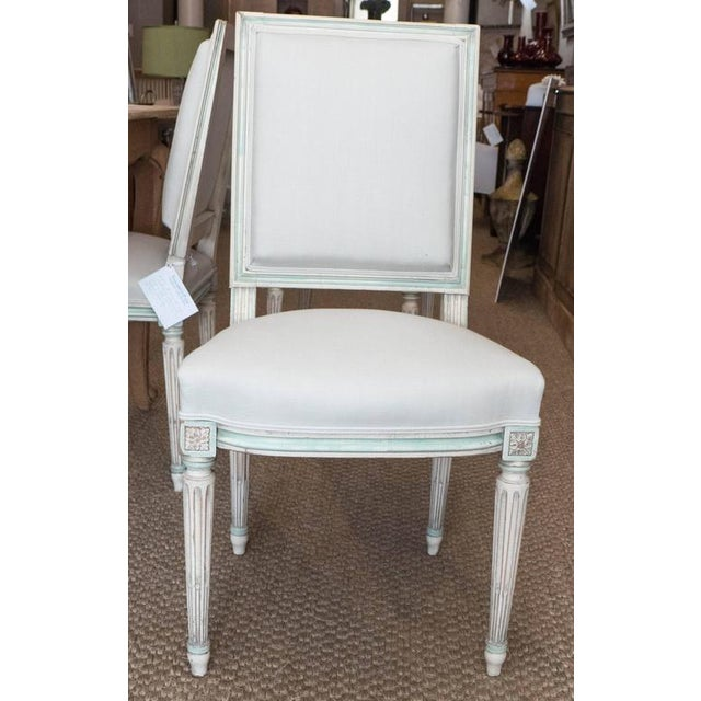 Louis XVI Style Dining Chairs - Set of 6 For Sale - Image 4 of 9