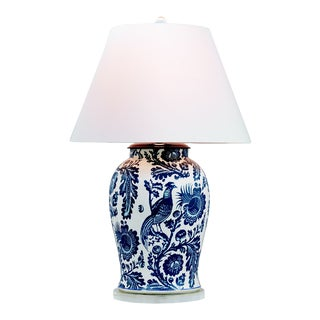 "Arcadia Indigo Lamp - 36"" H For Sale"