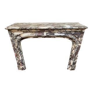 Louis XIV Marble Mantel, circa 1820 For Sale