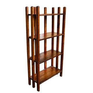 Antique Arts & Crafts Mission Bookshelf For Sale
