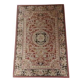 1980s French Directorial Design Rug- 3′7″ × 5′5″ For Sale