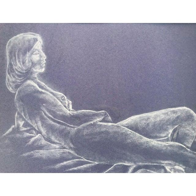 Vintage Nude Figure Study For Sale - Image 4 of 6