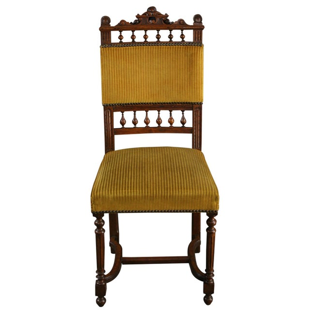 Antique French Dining Chairs Henry II - Set of 6 - Image 3 of 10