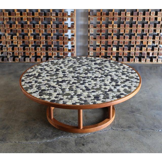 Marshall Studios Jane & Gordon Martz Ceramic Tile Coffee Table for Marshall Studios, Circa 1960 For Sale - Image 4 of 11
