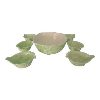 1970s Cabbage Ware - Set of 7 For Sale