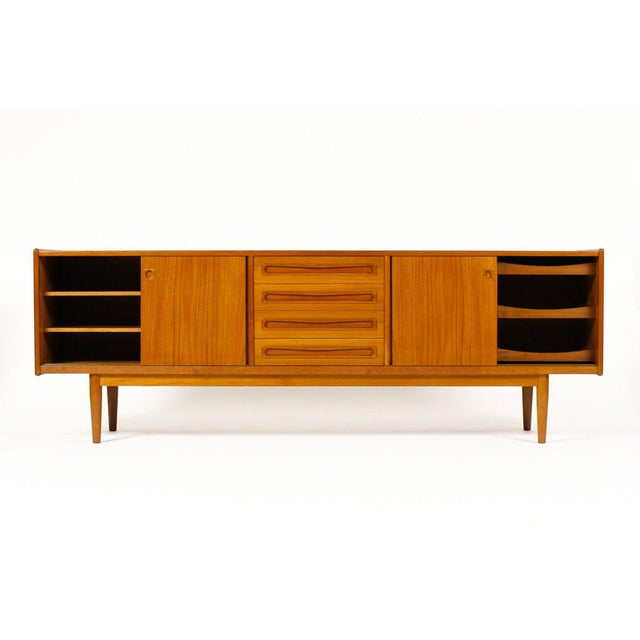 Mid-Century Modern 1960s Scandinavian Jens Ærthøj Teak Credenza/Sideboard For Sale - Image 3 of 11