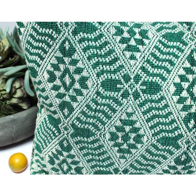 Handloomed Sumba Ikat Lumbar Pillow - Image 6 of 7