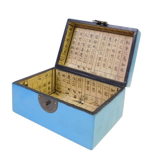Light Blue Rectangular Container Box - Image 3 of 5