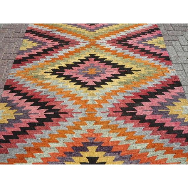 Rug & Kilim Anatolian Turkish Classic Kilim Rug For Sale - Image 4 of 13