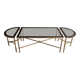 1950's Maison Jansen Style Tripartite Coffee Table