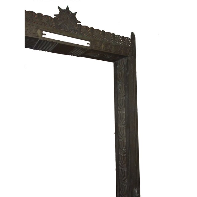 Art Deco Bronze/Brass Elevator Door Frame For Sale - Image 9 of 10