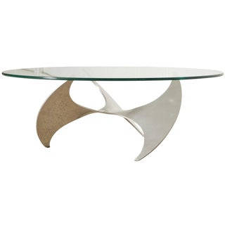 Mid Century Knut Hesterberg for Ronald Schmitt Propeller Coffee Table