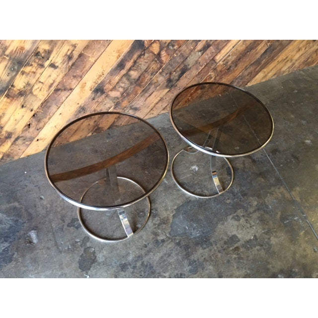 Gardner Leaver for Steelcase Side Tables - Pair - Image 4 of 7