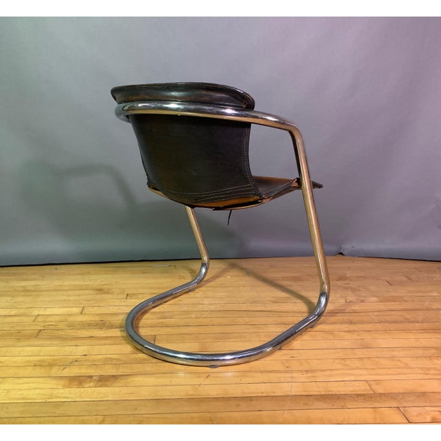 Vintage Willy Rizzo Dining Chairs for Cidue, Italy 1970s For Sale - Image 11 of 13