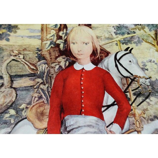 "Tsuguharu Foujita ""Little Cavalier"" Mid-Century Print For Sale - Image 5 of 10"
