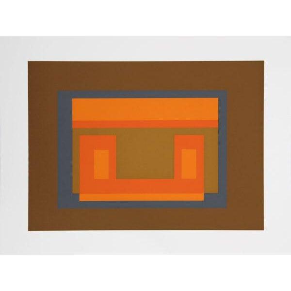 Artist: Josef Albers Portfolio: Formulation: Articulation (Double Portfolio) Title: Portfolio 1, Folder 11, Image 1 Year:...
