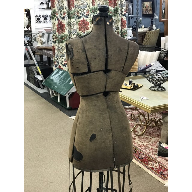 Antique Grand Rapids Dress Form Mannequin For Sale In Richmond - Image 6 of 7