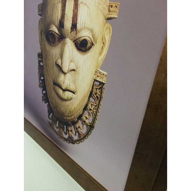 African Mask Photograph For Sale - Image 4 of 5