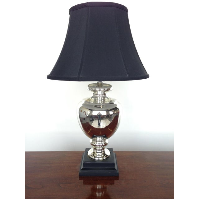 Mercury Glass Lamp - Image 2 of 5