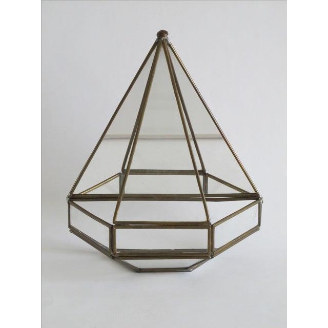 Mirrored Geometric Terrarium - Image 5 of 7