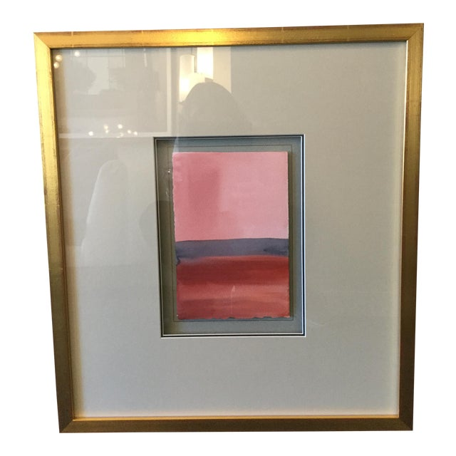 Framed Painting 'Contemplative Spaces V' - Image 1 of 3