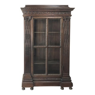 19th Century French Louis XVI Neoclassical Bookcase For Sale