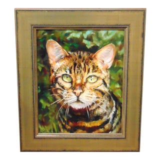 """Oil Painting """"Tabby"""" by Donna Munsch"""