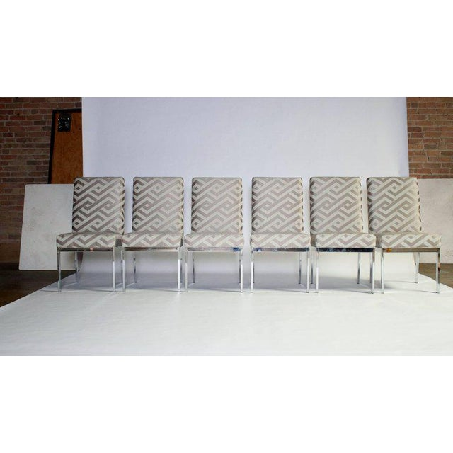Milo Baughman Design Institute of America Dining Chairs - Set of Six For Sale - Image 9 of 9