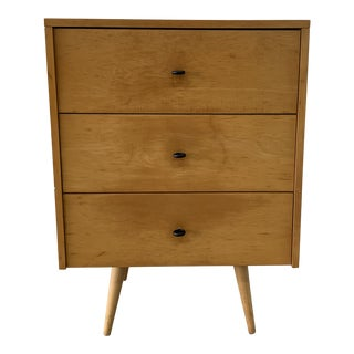 1950s Paul McCobb Planner Group 3 Drawer Chest For Sale