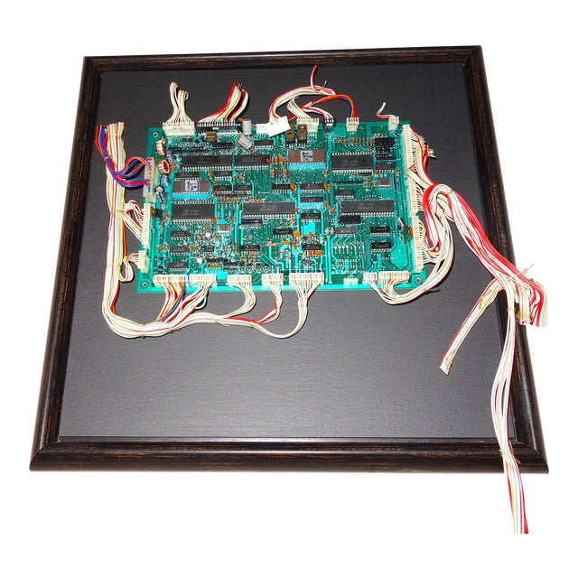 Component Art Sculpture by Bill Reiter. Uses Later Mid-20th Century Vintage Television Studio Equipment Electronic Artifacts and Components. For Sale