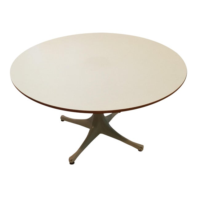 George Nelson Pedestal Table - Image 1 of 10